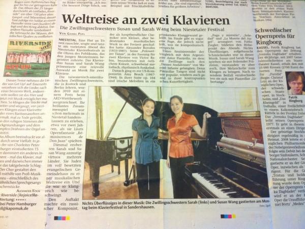 Weltreise an zwei Klavieren